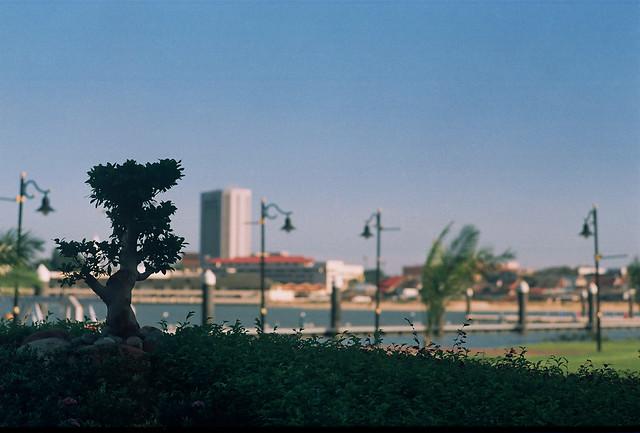 Kuala Terengganu city in a distance (CNV000009)
