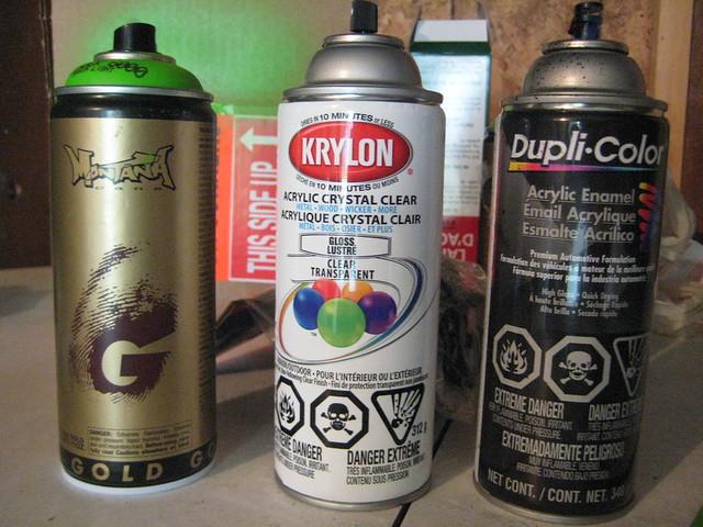 Shipping Spray Paint Via Ups
