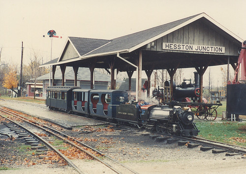 The Hesston Steam Museum. Hesston Indiana. Late October 1991. by Eddie from Chicago