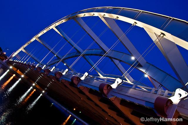 Douglass-Anthony Bridge at Dusk