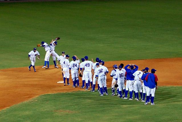 Cubs feirer en seier from Flickr via Wylio