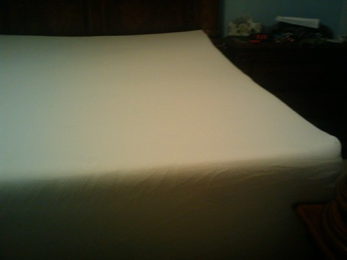 New memory foam mattress