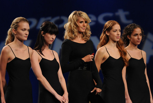 Project Runway 6 Models with Heidi Klum