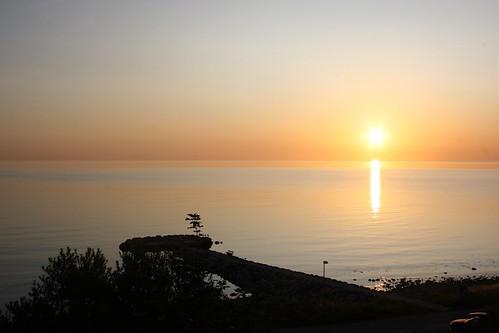 summer reflection colors silhouette sunrise geotagged denmark harbour sommer july explore juli hafen dänemark danmark sonnenaufgang 2009 farben reflektion sjællandsodde colorfuk
