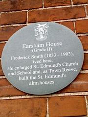 Photo of Frederick Smith grey plaque