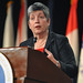 Janet Napolitano, secretary of the Department of Homeland Security, speak about the National Guard