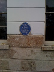 Photo of Thomas Read Kemp blue plaque