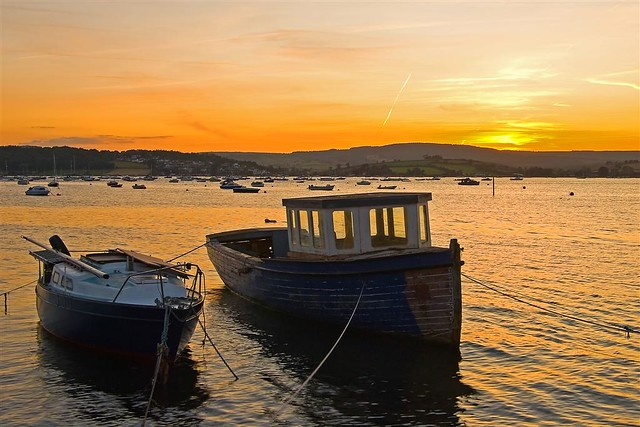 Sunset over Exmouth Estuary _SMP_1537