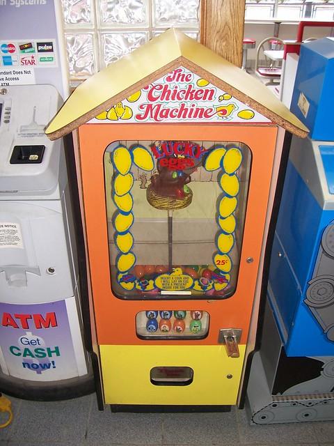 chicken machine lucky egg