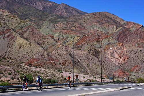 cycling in Quebrada de Humahuaca