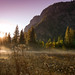 yosemite valley fall sunrise