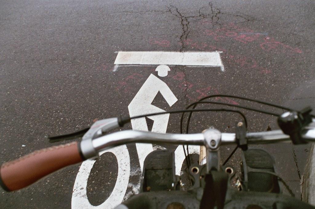 new bike paint on clay street