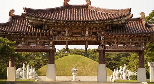 King Tongmyong Tomb