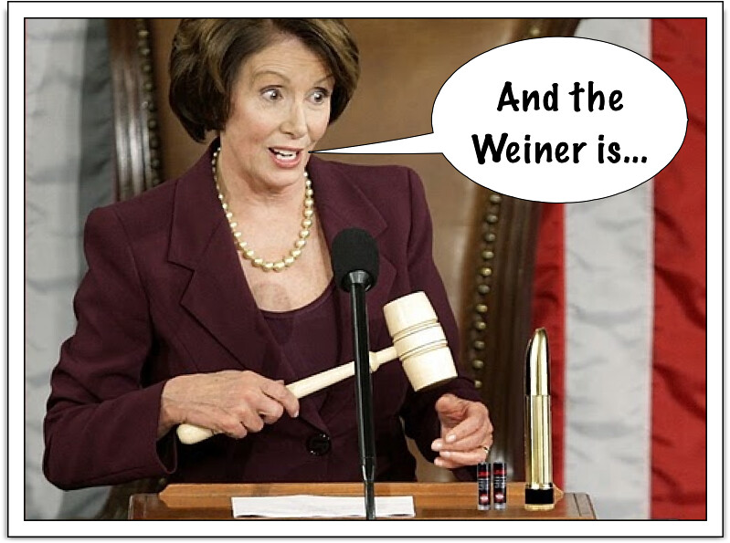 AND THE WEINER IS...
