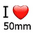 the I Love My 50mm group icon