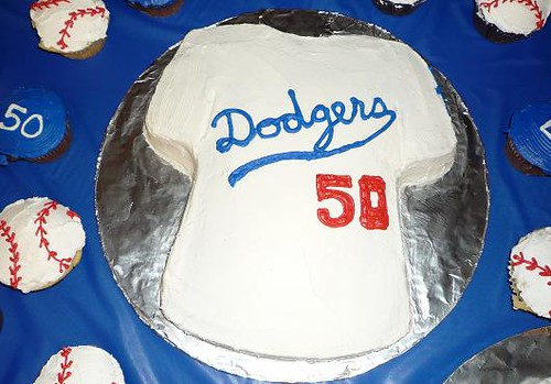 Dodgers Cake Flickr Photo Sharing