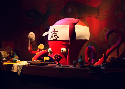 Daily Disney - Octopus Sushi Chef