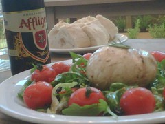 meal, lunch, breakfast, salad, mozzarella, food, dish, cuisine,