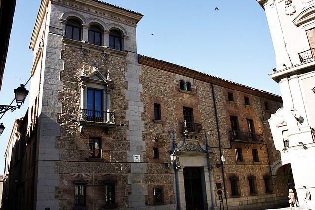 casa de cisneros, madrid