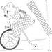 Circus Quilt: Bear/Bike by shawnlorette