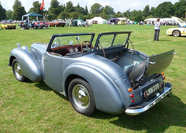 Triumph 2000 Roadster 1949 With Dickie Seat Flickr