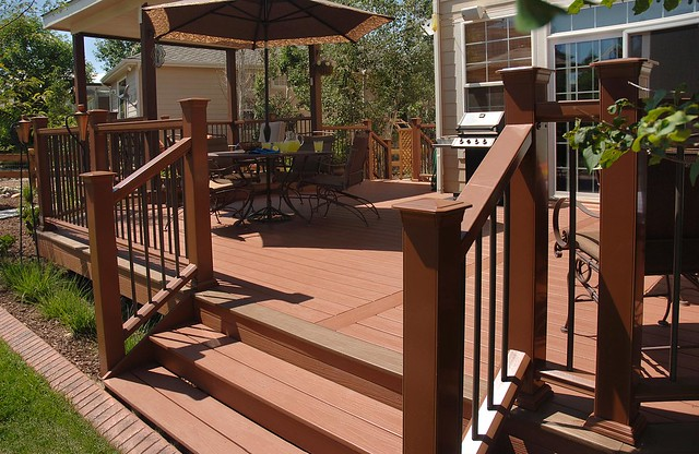 Fiberon horizon composite decking flickr photo sharing for Fiberon ipe decking prices