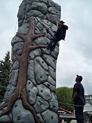art, tire, monolith, rock,