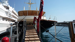 Lady Moura & Nero Yacht in Monaco
