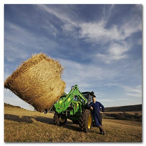 Farmer James has got a new tractor :)