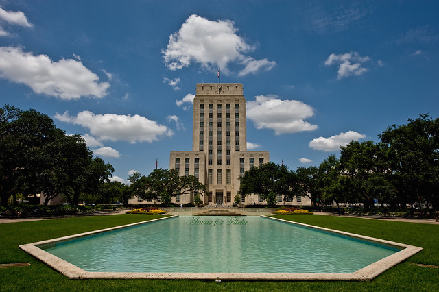 NOTHING FANCY: HOUSTON CITY HALL