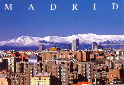 Madrid 6 - panorama snow