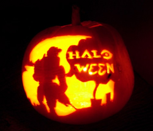 haloween carving