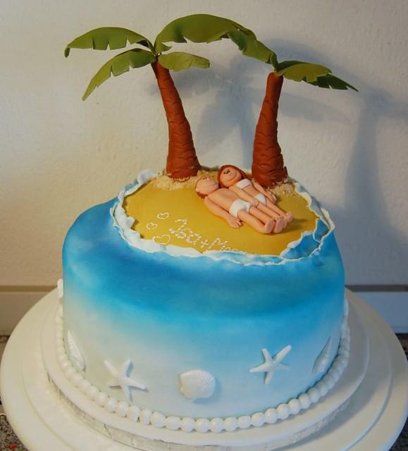 Island Cake / Insel Torte | Flickr - Photo Sharing!