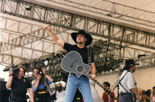 Tim McGraw at the old Fan Fair