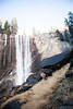 Vernal Falls from Mist Trail by wendy crockett