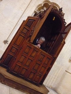 Image of Capilla Real. andalucía praying catedral granada padre capillareal confesionario sacerdote rezando