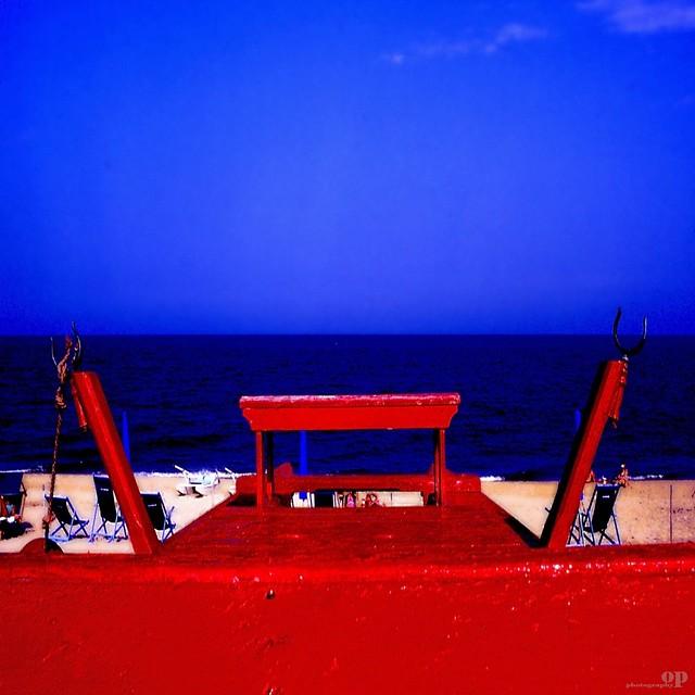 Hot Red Beach