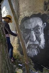 Rahbar Ali Khamenei, painted portrait _DDC7209