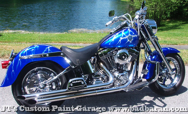 Lightning on motorcycle flickr photo sharing for How much to paint a motorcycle