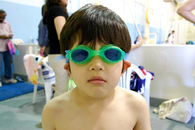 Serious Swimmer