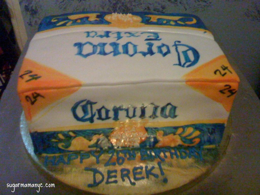 Corona Birthday Cake A Photo On Flickriver