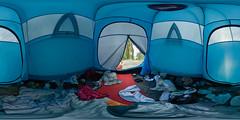Island 2008: Tent Interior