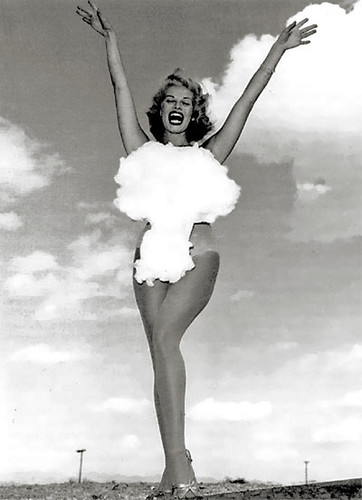 1954 - Miss Atomic Test, Las Vegas