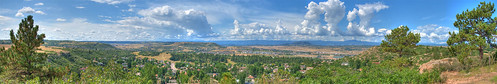 panorama mountains colorado bluesky hdr pikespeak castlerock
