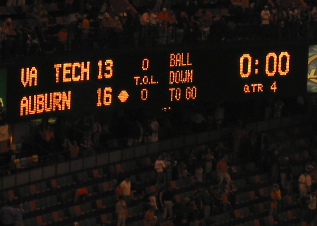 Sugar Bowl 2005 Scoreboard