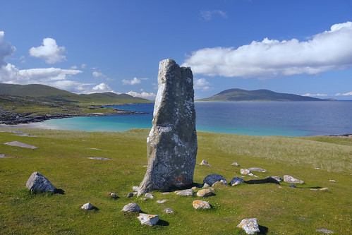 MacLeod's stone, Isle of Harris, Scotland