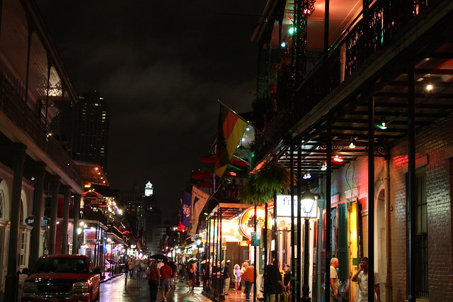 Bourbon Street Between Orleans and St. Ann, French Quarter, New Orleans, Louisiana 4
