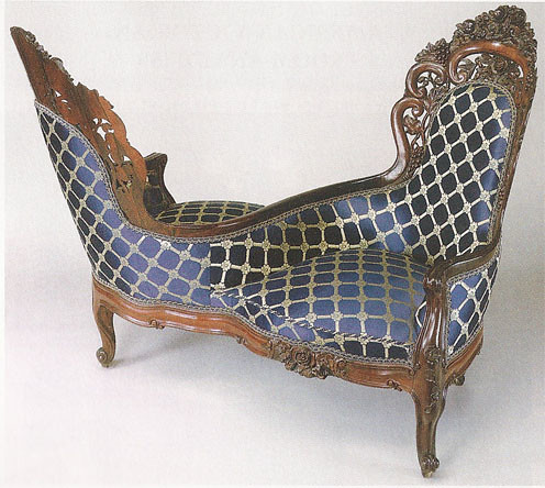 State of lace erin williamson for S shaped chaise lounge chairs
