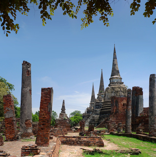 My postcard of Ayutthaya
