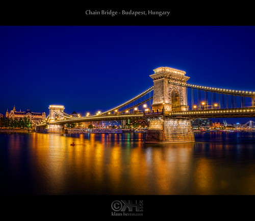travel tourism night photoshop reflections river geotagged lowlight nikon hungary tripod budapest wideangle fave journey bluehour nikkor dri danube hun hdr attraction watermark hdri topaz donau adjust infocus chainbridge postprocessing 18200mm photomatix tonemapped tonemapping denoise watermarking d7000 topazsoftware nikonafsdxnikkor18200mm13556gedvr geo:lat=4749911538 geo:lon=1904108763